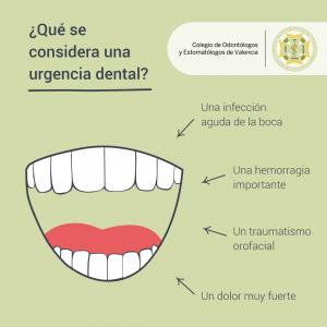 urgencia dental infografia